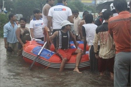 aircel boat branded helpers