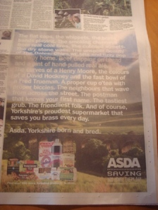 Asda Yorkshire Day ad