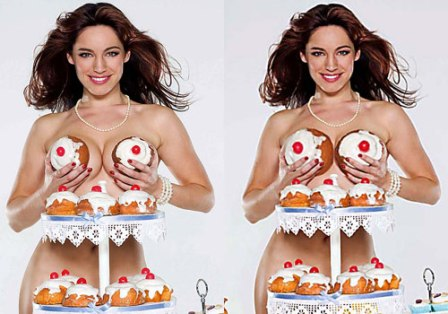 kelly brook calendar girls before and after