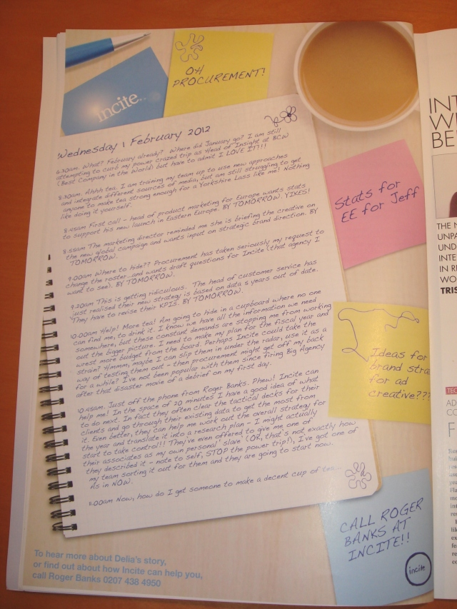 bad long copy diary