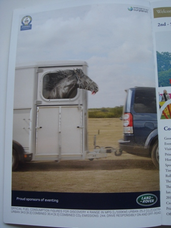 Land Rover eventing