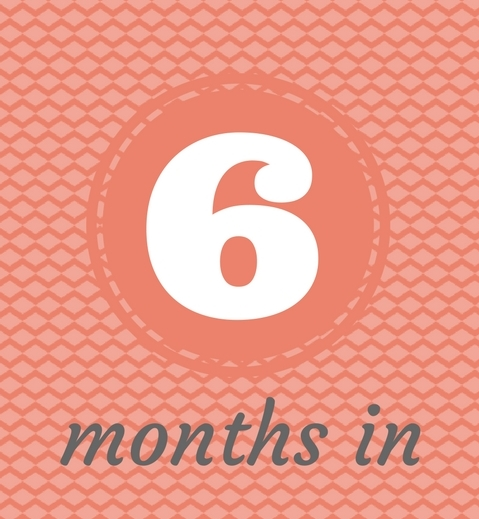 six months in – Gemma Teed